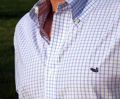 Southern Marsh Collection — The Mallard Tattersall - Wrinkle Free