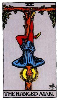 EL COLGADO, Significado de las cartas del Tarot