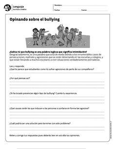 Opinando sobre el bullying