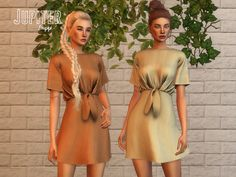 New refreshing dress for Spring-Summer! Found in TSR Category 'Sims 4 Female Everyday' Sims 4 Restaurant, Sims 4 Toddler Clothes, Play Sims 4, Sims4 Clothes, Chelsea, Sims 4 Mm, The Sims 4 Download, Sims 4 Cc Finds, Sims 4 Clothing