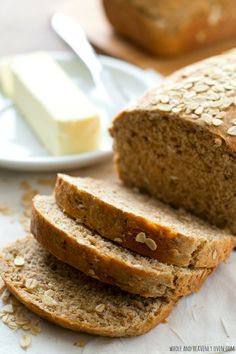 This hearty sandwich bread is chock-full of all kinds of nutritious grains---it's soft texture and homemade flavor is 10x better than the bakery!