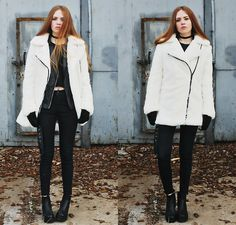 Oasap Coat, Sheinside Pants, Style Moi Jacket