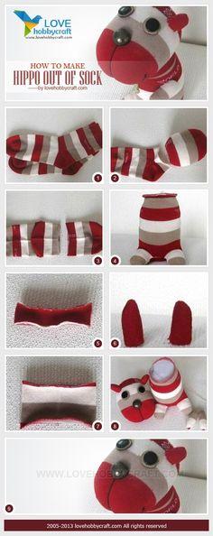 Çoraptan Oyuncak Modelleri ve Yapımı 94 - Mimuu.com
