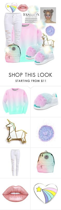 """""""The Everyday Life of a Unicorn🦄"""" by princessqtpi ❤ liked on Polyvore featuring Aloha From Deer, Joshua's, Hug a Porcupine and The Gypsy Shrine"""