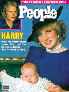 1985 A Windsor War A Battle of Wills Erupts at Harry's Baptismal Font as His Parents Take Sides Against An Insulted Princess Anne