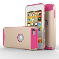 iPod touch 5 Case,iPod touch 6 Case, MOOST(TM) 2-Piece Style Hybrid Shockproof Hard Case Cover for Apple iPod touch 5 6th Generation (Champagne Gold / Rose Pink) MOOST http://www.amazon.com/dp/B014QYOKPQ/ref=cm_sw_r_pi_dp_w.5rwb05VRRS0