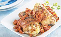 Frango picante  Receita: http://mdemulher.abril.com.br/culinaria/receitas/frango-picante-molho-394741.shtml