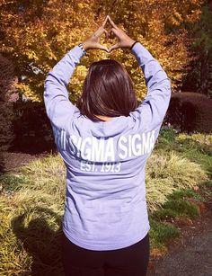 Phi Sigma Sigma Spirit Jersey #PhiSigmaSigma #PhiSig #SpiritJersey #sorority