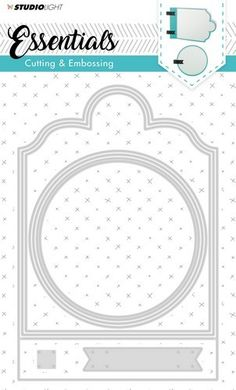 Put your picture in a frame that is in a frame and has below a labelling spot . Design Blogs, Marianne Design, Studio Lighting, Folded Cards, Die Cutting, Card Templates, Mini Albums, Stencils, Essentials