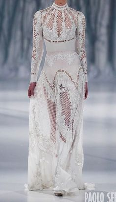 9c08f801eba47 Wedding Styles, Snow Maiden, Paolo Sebastian Bridal, Paola Sebastian,  Fashion 2016,