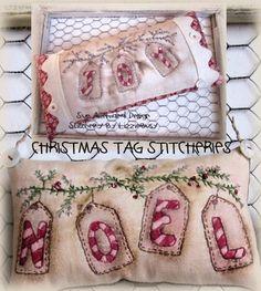 Lizziebusy Handmade: Lizziebusy stitchery e-pattern