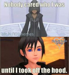 """Xion- Kinda reminds me of Bane, """"Nobody cared who I was, until I put on the mask."""""""