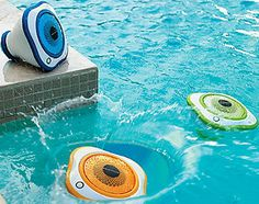 Floating LED Pool Speakers