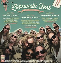 The Big Lebowski Dudeism, Bowling Party, The Big Lebowski, Movie Party, Costume Contest, King Kong, Special Guest, Trivia, The Neighbourhood