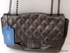 Simply Vera Wang Stowaway Turnlock Convertible Shoulder Bag Crossbody Pewter 400920516665 | eBay Chanel-inspired!  $69 Free Shipping