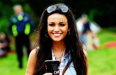 Cute Snaps | Festival | Michelle Keegan at V-fest. Love the body paint!:)