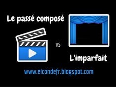 El Conde. fr: Passé composé vs Imparfait French Teacher, French Class, French Lessons, French Verbs, French Grammar, French Teaching Resources, Teaching French, School Tool, French Immersion