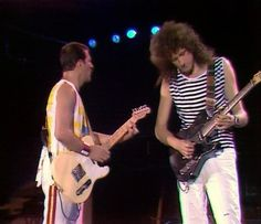 Brian May & Freddie Mercury