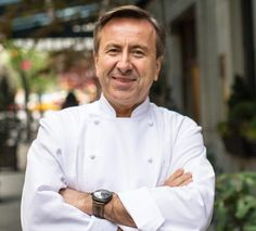 Le chef Français Daniel Boulud du restaurant Daniel à New-York reçoit le Prix The Diners Club Lifetime Achievement