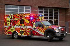 Portraits of Hope: Aspen, Colorado; Ford Ambulance, American Ambulance, Columbus Fire Department, Firefighter Paramedic, Cool Fire, Fire Equipment, Aspen Colorado, Fire Apparatus, Emergency Vehicles