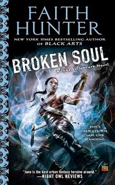 Broken Soul by Faith Hunter (Jane Yellowrock #8)  Broken Soul provides a kick butt urban fantasy with a marvelous group of characters that any fan would love. I highly recommend the Jane Yellowrock series. With all the reading I do, there are only a few series/books I do re-reads...this is one of them.  http://tometender.blogspot.com/2014/11/broken-soul-by-faith-hunter-jane.html