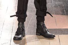 Yohji Yamamoto Paris Men's Fashion Week: RTW Fall 2016 Shoes ...