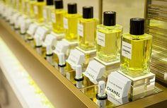 salon de perfumes Chanel Les Exclusifs fragrances