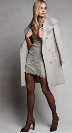 Cool grey, in sumptuous textures, provides a modern alternative to black and white for the season ahead.