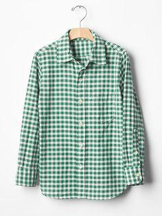 Gingham shirt Product Image