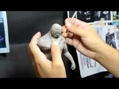 Sculpting Jackie Chan Head 1:6 Scale Hot Toys quality : Part 1 of 2 - YouTube
