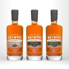Wayward Whiskey // branding and packaging by CDA // chendesign.com