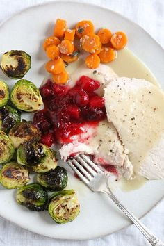 Looking for an easy way to prepare turkey breast that doesn't require too much attention, this is it! Juicy turkey breast with a rich turkey gravy, all in your slow cooker.