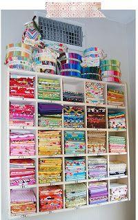 Organizing fabric.