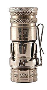 Amazon.com: FOURSEVENS Paladin PKL Flash Light, Polished Titanium: Home Audio & Theater