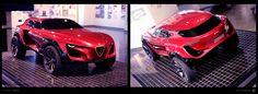 Alfa Romeo: Dark Romance on Behance