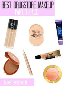 The Best Drugstore Makeup Ever! Part 1: Face Beauty Blog, Makeup & Skin Care Reviews, Beauty Tips