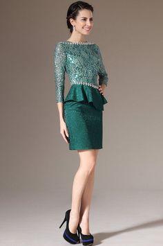 Evening dress yang sopan itu