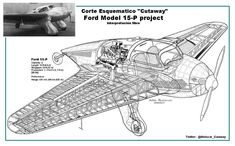 Ford Model 15-P (1935) flying wing was the last aircraft developed by the Stout Metal Airplane Division of the Ford Motor Company.[1] After several flights resulting in a crash, the program was halted.
