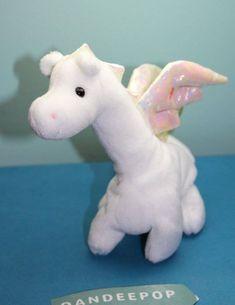 MAGIC the White Dragon MWMT NEW TY Beanie Baby