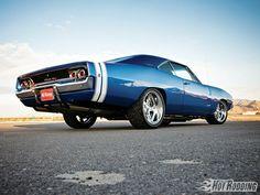 Dodge Charger RT 1968 Blue Alaska