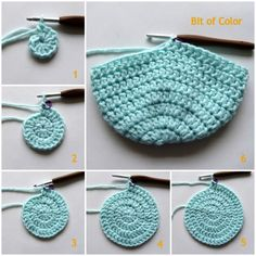 Bit of Color: Tutorial Babymutsje met bloembabymutsje Crochet Baby Hat Patterns, Crochet Baby Hats, Crochet Stitches, Knitted Hats, Baby Born, Baby Items, Baby Gifts, Crochet Earrings, Crafty