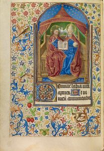 The Trinity, French, about 1466 - 1470 Ms. Ludwig IX 11, fol. 78v