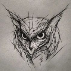 Sketch Style Tattoos, Tattoo Sketches, Art Drawings Sketches, Owl Tattoo Design, Animal Sketches, Animal Drawings, Cute Tattoos, Body Art Tattoos, Rabe Tattoo