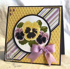 Kitchen Sink Stamps - pansy