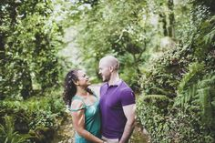 Pre wedding in Sintra Portugal of a wonder couple at the quinta santa maria by destination photographer jesuscaballero.com