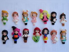 FIMO : my dolls by MilkyWayHandmade.deviantart.com on @deviantART
