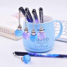Galaxy Pen — Aestheticer School Accessories, Kawaii Accessories, Kawaii Stationery, Stationery Shop, Japanese Pen, Kawaii Pens, Cool School Supplies, Cute Pens, Art Supply Stores