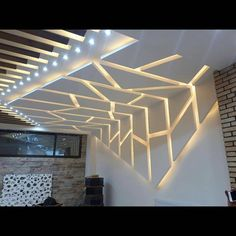 Image may contain: indoor Gypsum Ceiling Design, House Ceiling Design, Ceiling Design Living Room, Bedroom False Ceiling Design, Ceiling Light Design, Home Room Design, Ceiling Decor, Best False Ceiling Designs, Design Bedroom