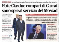 il popolo del blog,: #Renzi e #Carrai uomini del Mossad? Non sapevo che...