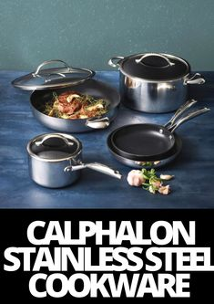 Cookware Set, Steel, Kitchen, Ideas, Cooking, Kitchens, Cuisine, Thoughts, Steel Grades